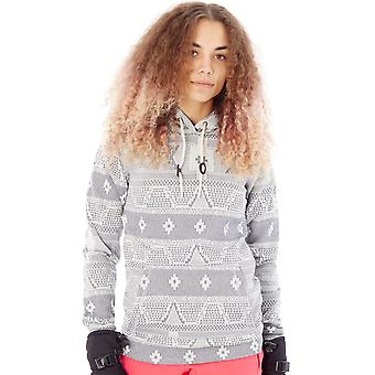 ONeill White AOP Abby Womens Snowboarding Hoody
