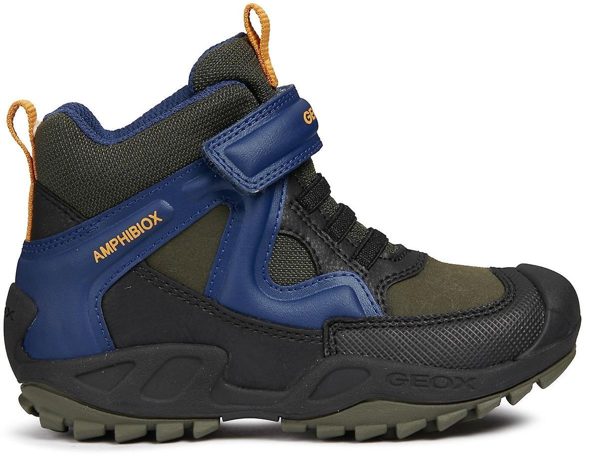Geox garçons Savage J841WA imperméable bottes vert bleu