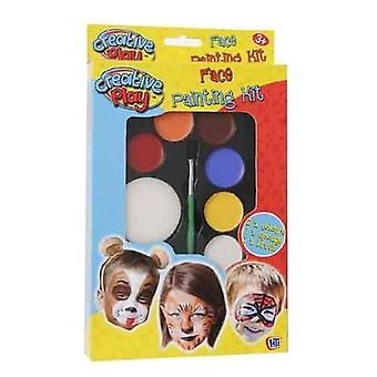 Carousel Creative Play Face Paints Set