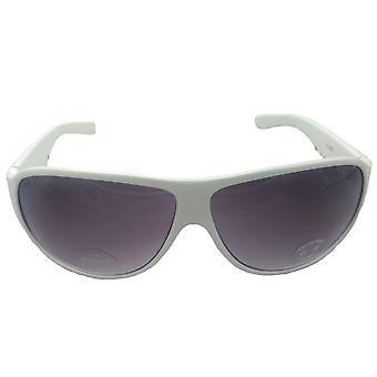 Icon Eyewear White Sunglasses UV Protection Summer Sun Bright Snow Ski Silver FREE UK
