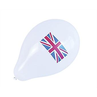 Bnov Union Jack Balloons (10 In Packet)