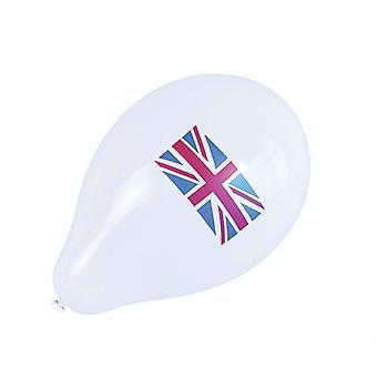 Bnov Union Jack globos (10 paquetes)