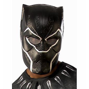 Черная пантера Marvel Superhero фильм лицензирован мужской костюм 1/2 ПВХ маска
