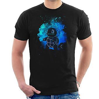 Alma de camiseta agua Squirtle Pokemon hombres