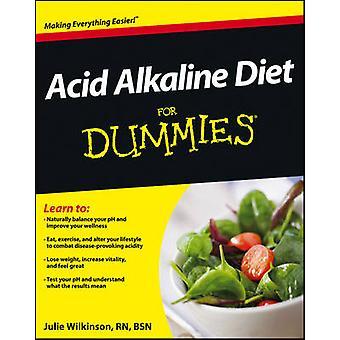 Acid Alkaline Diet For Dummies by Julie Wilkinson - 9781118414187 Book