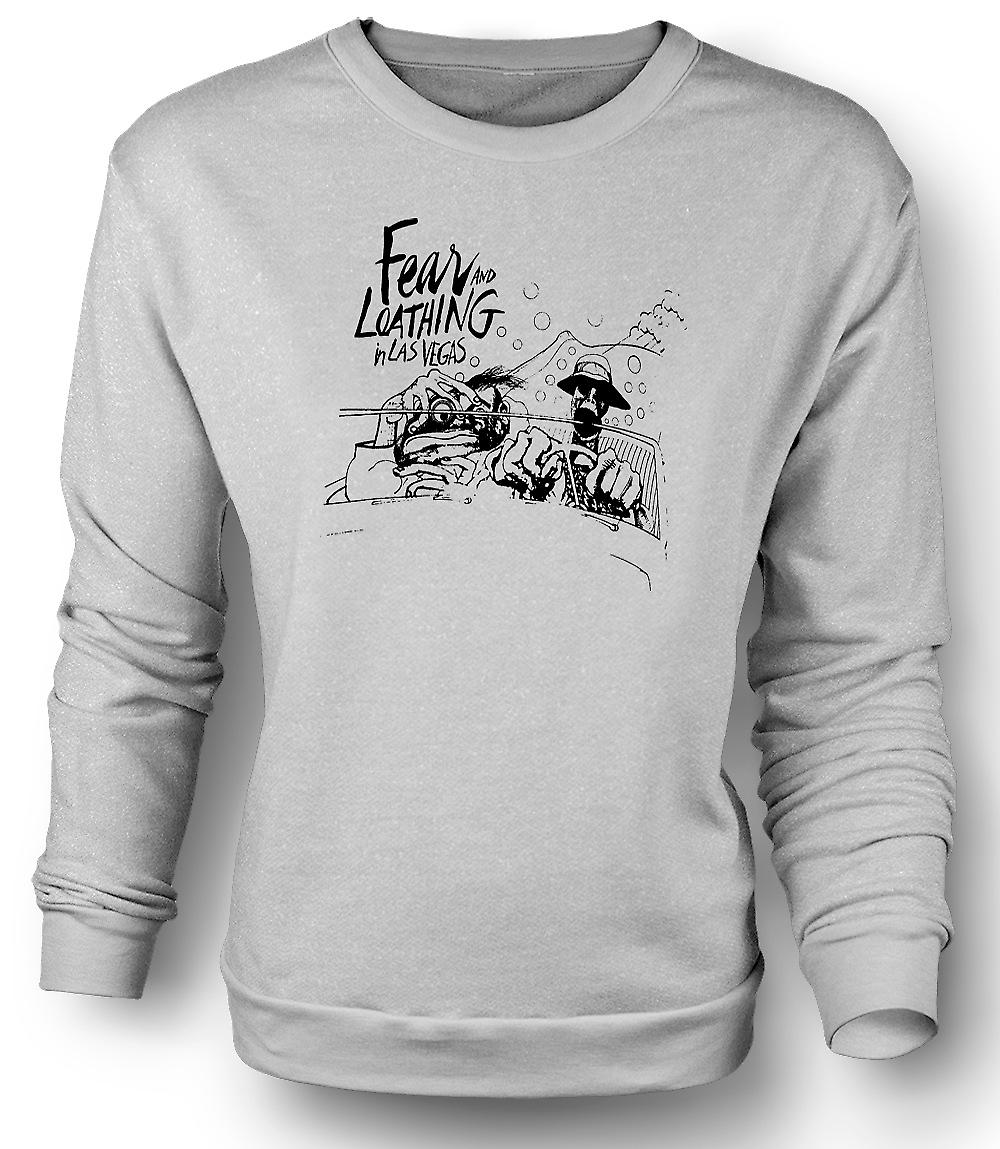 Mens Sweatshirt Fear And Loathing - Cartoon - lustig