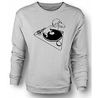 Mens Sweatshirt DJ Spin The Decks