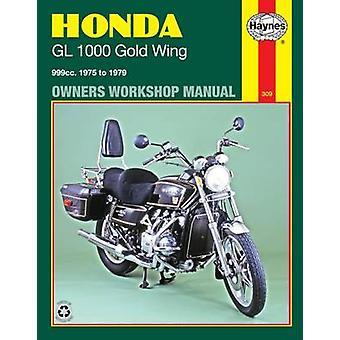 Honda GL1000 Gold Wing Workshop Användarhandbok (reviderad upplaga) av M