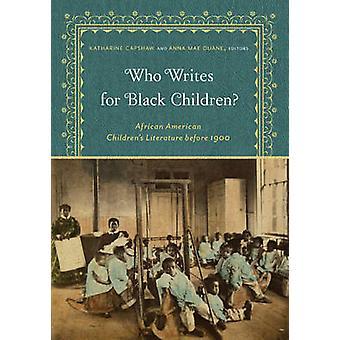 Hvem skriver for sorte børn? -African American børn litteratur