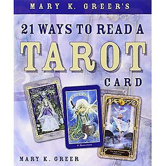 21 façons de Mary K. Greer de lire une carte de Tarot