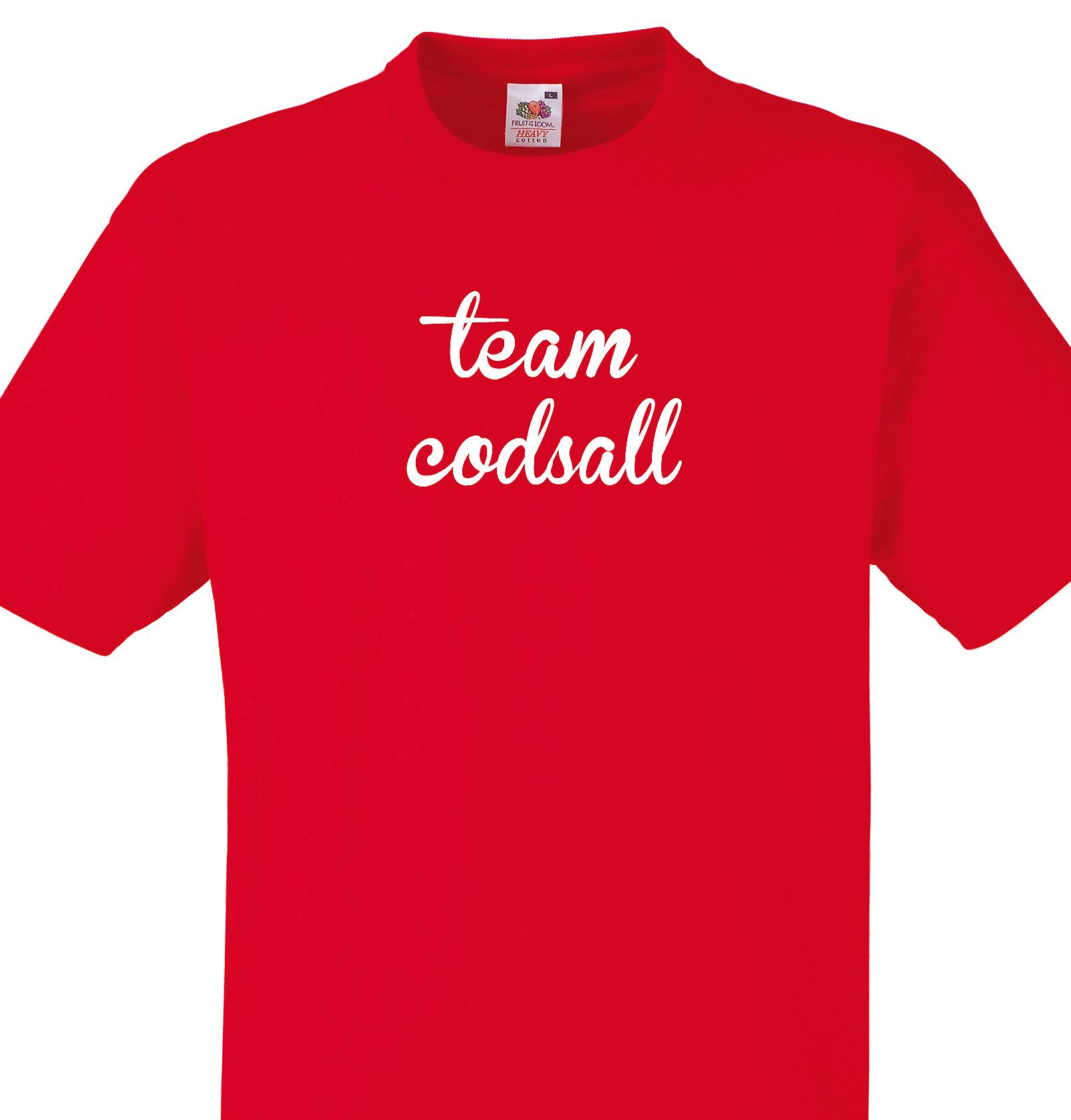 Team Codsall Red T shirt