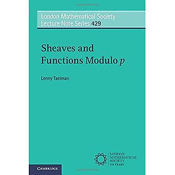Sheaves and Functions Modulo p (London Mathematical Society Lecture Note Series)