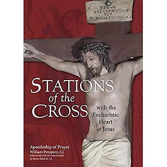 Stationer på korset med Jesu eukaristiska hjärta