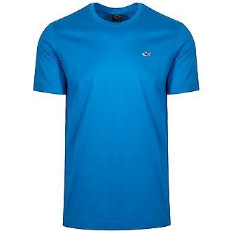 Paul & Shark Paul & Shark Royal Blue Shark Logo T-Shirt
