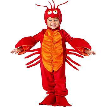 Red Lobster Kleinkind Kostüm