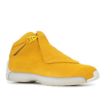 Air Jordan 18 Retro 'Yellow Suede' - Aa2494-701 - Shoes