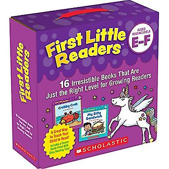 First Little Readers Parent� Pack: Guided Reading Levels E & F: 16 Irresistible Books That Are� Just the Right Level for Growing Readers (First Little Readers)