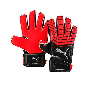 Puma One Protect 18.3 Finger Protection Junior Goalkeeper Goalie Glove Red