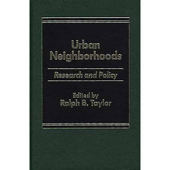 Pesquisa de bairros urbanos e política por Taylor & Ralph B.