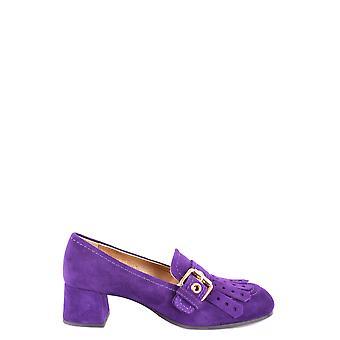Car Shoe Purple Suede Pumps