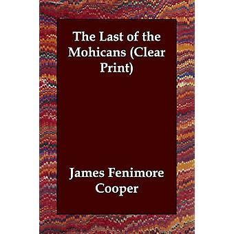 Sidst mohikaner af Cooper & James Fenimore