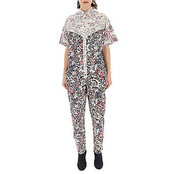 Isabel Marant Multicolor Cotton Jumpsuit