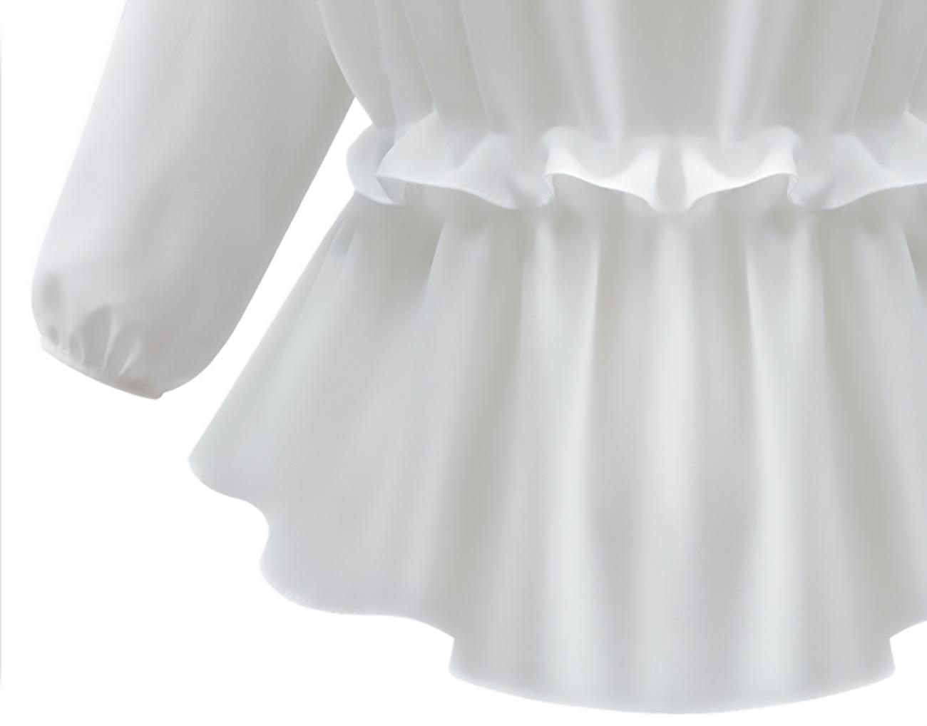 Petite pleated tunic with long sleeves Manion