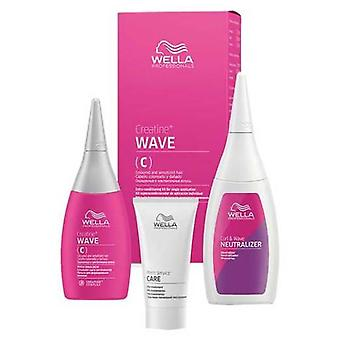 Wella Professionals Creative Wave C Kit for Coloured hair