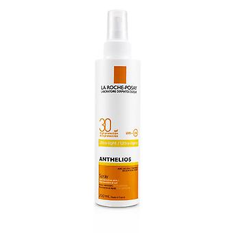La Roche Posay Anthelios Ultra-Light Spray SPF 30 - For Sensitive Skin (Water Resistant) - 200ml/6.7oz