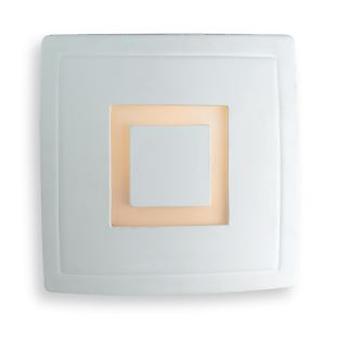 Firstlight-1 luz de pared interior ligera-100W sin esmaltar, vidrio blanco ácido-C330UN