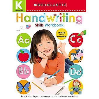 Dagis färdigheter arbets bok: hand skrift (Scholastic Early inlärare) (Scholastic tidiga elever)
