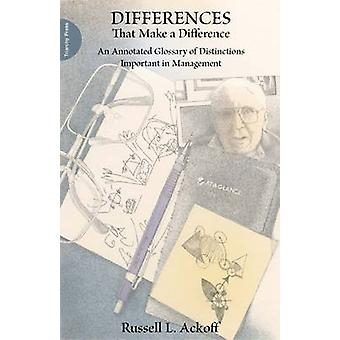 Differences That Make a Difference - An Annotated Glossary of Distinct