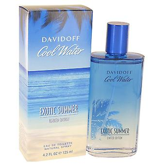Cool Water Exotic Summer by Davidoff Eau De Toilette Spray (limited edition) 4.2 oz / 125 ml (Men)