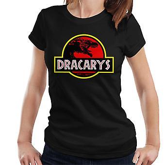 Dracarys Dragon Jurassic Park Game Of Thrones Women's T-Shirt