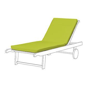Gardenista® Lime Water Resistant Seat Pad für Sun Lounger, Pack von 2