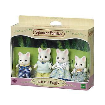 Sylvanian Families - Silk Cat Family Toy