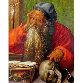 St.Jerome in his Cell,Albrecht Durer,50x40cm