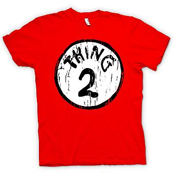Womens T-shirt - Thing 2 - Cat in A Hat