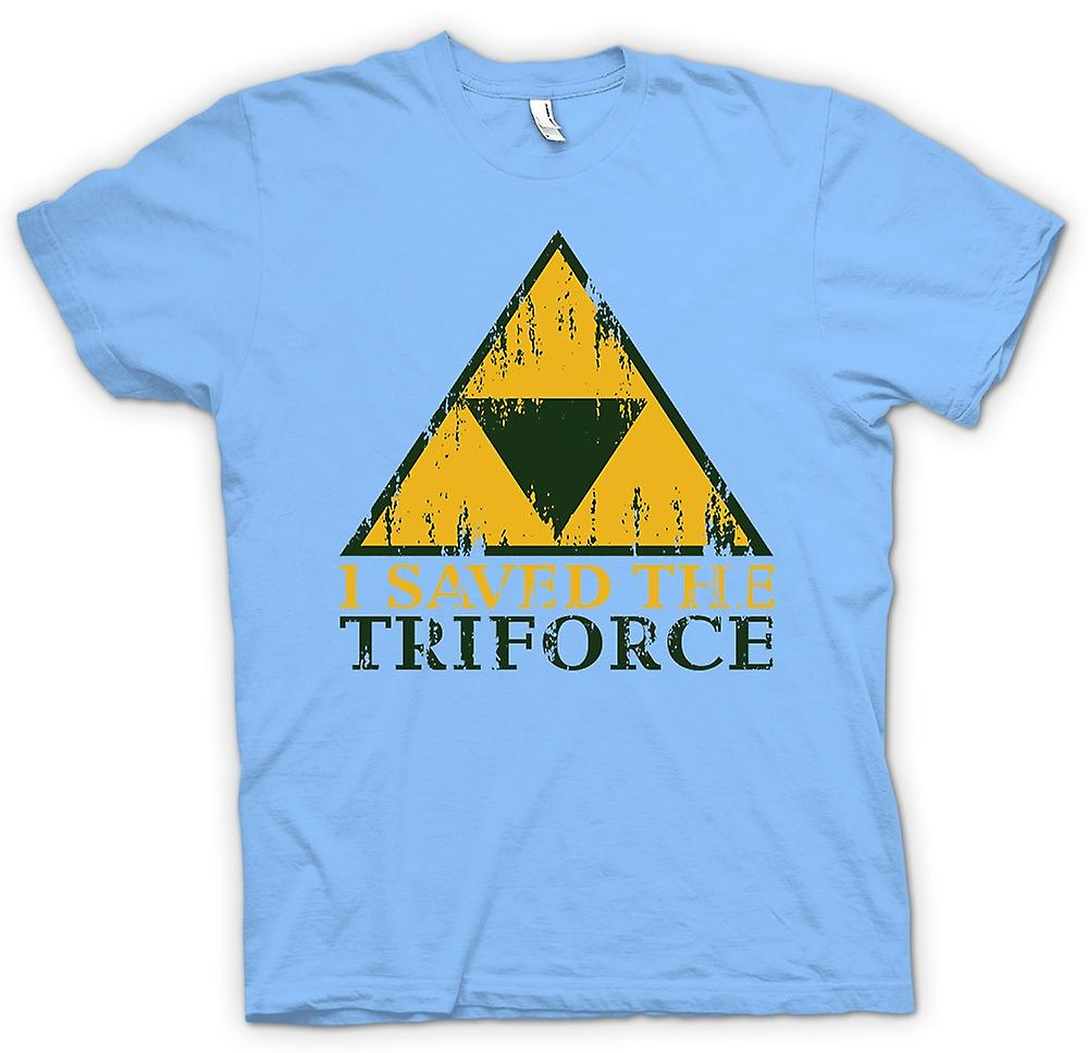 Mens T-shirt - j'ai sauvé la TriForce - Legend Of Zelda inspiré