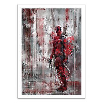 Art-Poster - Deadpool - Wisesnail 50 x 70 cm