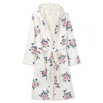 Joules Joules Ida Womens Jersey Fleece Lined Dressing Gown A/W 19
