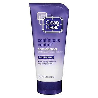 Clean & clear continuous control acne cleanser, 5 oz
