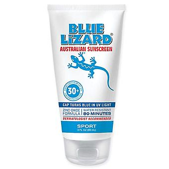 Blue lizard australian sunscreen, sport, fragrance-free, spf 30+, 3 oz