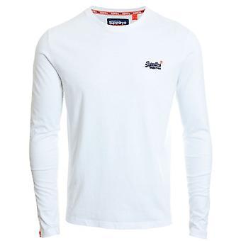 Superdry Orange Label Vintage Embroidery L/s T-shirt Optic White