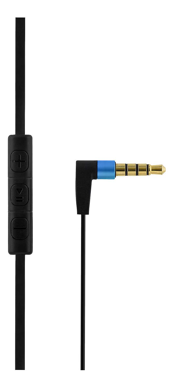 STREETZ in-ear headset, mikrofon och volymkontroll