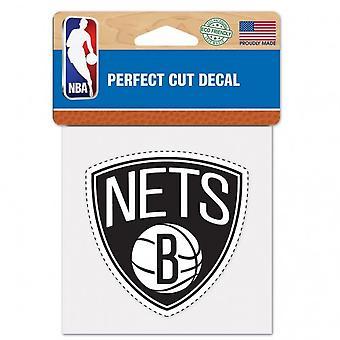Wincraft decal 10x10cm - NBA Brooklyn nets