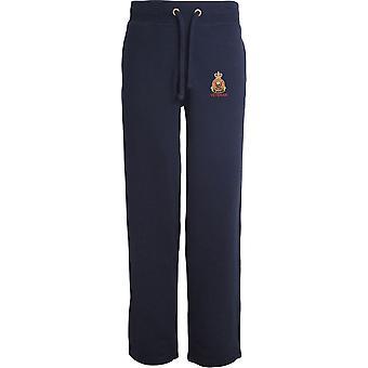 Vétéran de corps de restauration de l'armée - Licensed British Army Embroidered Open Hem Sweatpants / Jogging Bottoms