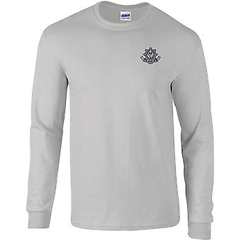 Cheshire Regiment WW1 - Licensed British Army Embroidered Long Sleeved T-Shirt