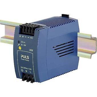 PULS MiniLine ML30.100 Rail mounted PSU (DIN) 24 Vdc 1.3 A 30 W 1 x