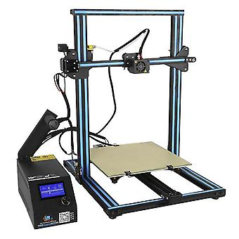 Diy 3d printer kit creality cr-10s - 0.4mm nozzle, v-slot linear bearing system, high precision printing